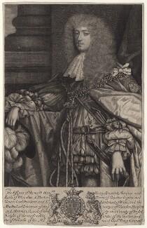 Henry Somerset, 1st Duke of Beaufort, by Robert White, after  Sir Godfrey Kneller, Bt - NPG D18618