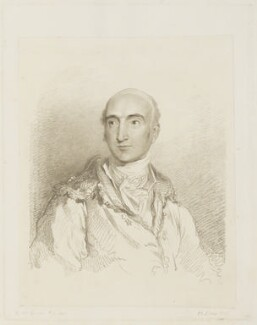 William Sotheby, by Frederick Christian Lewis Sr, after  Sir Thomas Lawrence - NPG D16138