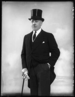 Sir (William) Reginald Tuck, 2nd Bt, by Bassano Ltd - NPG x123873