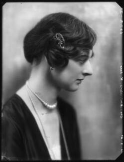 Kathleen Airini Vane (née Mair), by Bassano Ltd, 20 May 1927 - NPG x123906 - © National Portrait Gallery, London