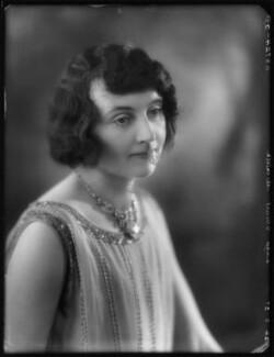 Winifred Melville (née Francis), Lady Stuart-Menteth, by Bassano Ltd - NPG x123908