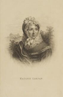 Jeanne Louise Henriette Campan, by Unknown artist - NPG D16163