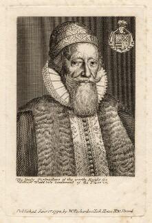 Sir William Waad, published by William Richardson - NPG D16186