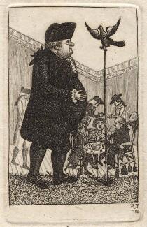 James Graham; John Brown; Mr Little; William Cullen; William Bellenden-Ker, Duke of Roxburghe; Alexander Hamilton; John Lamont, by John Kay - NPG D18642