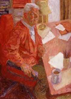 Bruce Kent, by Hans Schwarz, 1992-1993 - NPG 6663 - © National Portrait Gallery, London