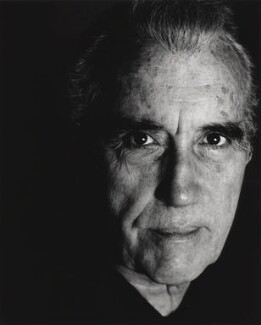 Christopher Lee, by Brian Aldrich - NPG x76022