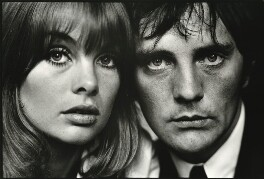 Jean Shrimpton; Terence Stamp, by Terry O'Neill - NPG x126318