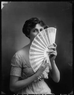 Valli Valli (née Valli Knust), by Bassano Ltd, 30 July 1912 - NPG x101944 - © National Portrait Gallery, London