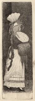 Miss Burns, by John Kay - NPG D18651