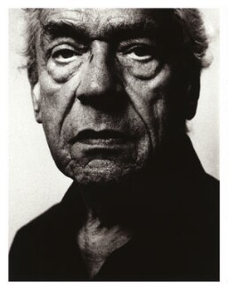 Paul Scofield, by Robin Barton - NPG x77021