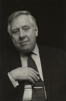 Roy Hattersley, by Jeremy Baile - NPG x38235