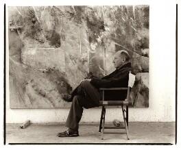 (Harold) John Golding, by David Bennett - NPG x45971