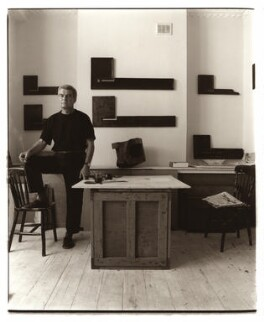 Paul Neagu, by David Bennett, 3 August 1994 - NPG x45974 - © David Bennett/ National Portrait Gallery, London