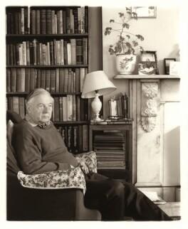 John Alfred Terraine, by David Bennett - NPG x45977