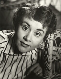 Joan Plowright, by John Vere Brown - NPG x68282