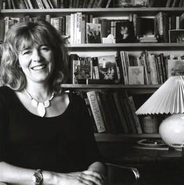 Deborah Moggach, by Alexandra Burke - NPG x32382