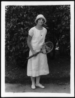 Daphne Akhurst (Mrs R. Cozens), by Bassano Ltd, 1925 - NPG x123955 - © National Portrait Gallery, London