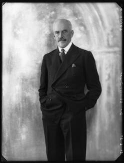 Sir Charles Alexander Innes, by Bassano Ltd - NPG x123967