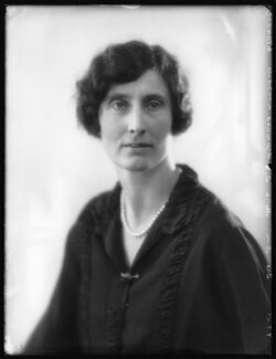 Hon. Helen Heywood-Lonsdale (née Annesley), by Bassano Ltd - NPG x123988