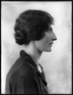 Hon. Helen Heywood-Lonsdale (née Annesley), by Bassano Ltd - NPG x123990