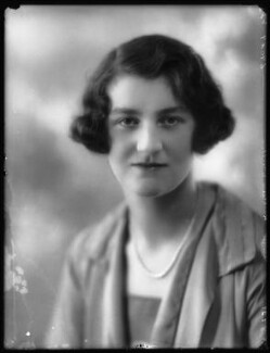 Mary Kathleen (née Crichton), Duchess of Abercorn, by Bassano Ltd, 8 July 1927 - NPG x123992 - © National Portrait Gallery, London
