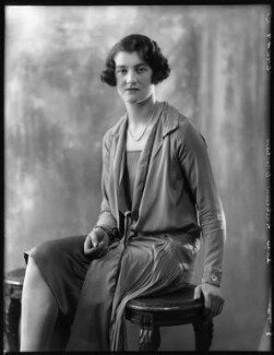 Mary Kathleen (née Crichton), Duchess of Abercorn, by Bassano Ltd, 8 July 1927 - NPG x123994 - © National Portrait Gallery, London