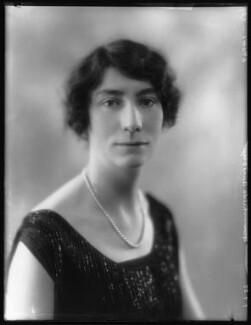 Hon. Hilda Cecil Annesley, by Bassano Ltd - NPG x124007
