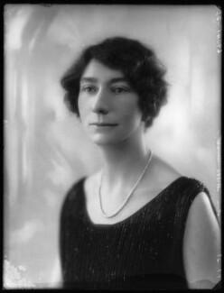 Hon. Hilda Cecil Annesley, by Bassano Ltd - NPG x124008