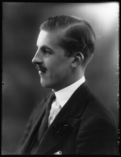James Edward Hamilton, 4th Duke of Abercorn, by Bassano Ltd, 15 July 1927 - NPG x124010 - © National Portrait Gallery, London