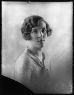Esther Isabella Madeleine (née Hall), Lady Gisborough, by Bassano Ltd - NPG x124017