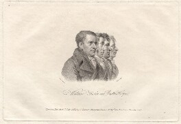 James Watson; Arthur Thistlewood; Thomas Preston; John Hooper, by William Holl Sr, published by and after  George Scharf, published 7 July 1817 - NPG D8063 - © National Portrait Gallery, London