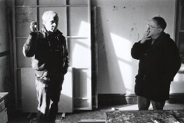 Michael Baldwin; Mel Ramsden, by Gautier Deblonde - NPG x87708