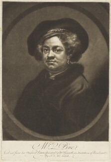 John Pine, by James Macardell, after  William Hogarth - NPG D18727