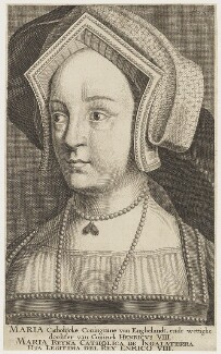 Queen Mary I when Princess Mary, after Hans Holbein the Younger - NPG D18729
