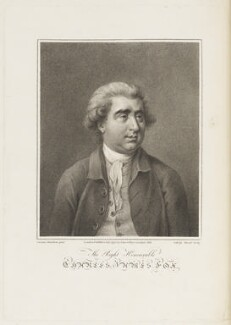 Charles James Fox, by Joseph Strutt, published by  John Jeffryes, after  Gavin Hamilton - NPG D18741