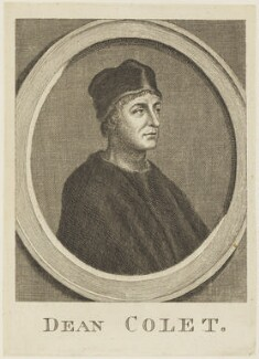 John Colet, by Unknown engraver - NPG D18754