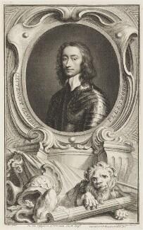 Charles Fleetwood, by Jacobus Houbraken, published by  John & Paul Knapton, after  Robert Walker - NPG D18756