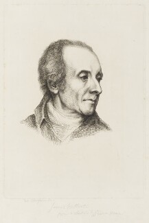 James Northcote, by J. de Claussin, published by  Abraham Wivell, after  Prince Hoare - NPG D18766