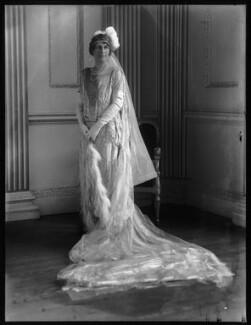 Margaret Emma (née Reiner), Lady Ebbisham, by Bassano Ltd, 19 May 1927 - NPG x124034 - © National Portrait Gallery, London