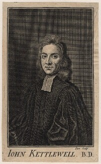 John Kettlewell, by Nathaniel Parr, or by  Remigius Parr, after  Henry Tilson - NPG D16209