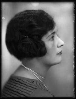 Agatha Isabel Fane (née Acland-Hood), by Bassano Ltd - NPG x124098