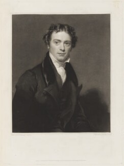 Michael Faraday, by Samuel Cousins, published by  Paul and Dominic Colnaghi & Co, after  Henry William Pickersgill - NPG D18780