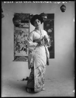 Hope Charteris as Aki San in 'The Mousmé' (The Maids in Japan), by Bassano Ltd - NPG x102049