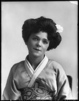 Hope Charteris as Aki San in 'The Mousmé' (The Maids in Japan), by Bassano Ltd - NPG x102051