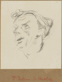 Sir Julian Huxley, by Henryk Gotlib - NPG D13572