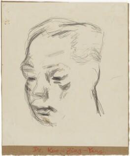 Zing Yang Kuo, by Henryk Gotlib - NPG D13574