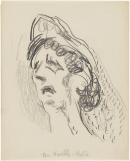 Dorothy Neville-Rolfe, by Henryk Gotlib - NPG D13571