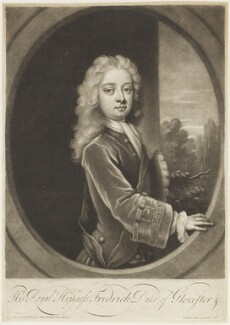 Frederick Lewis, Prince of Wales, by and published by John Simon, 1718 - NPG D18813 - © National Portrait Gallery, London