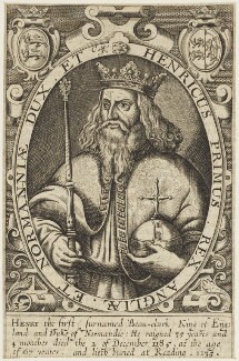 King Henry I, by Renold or Reginold Elstrack (Elstracke) - NPG D18817