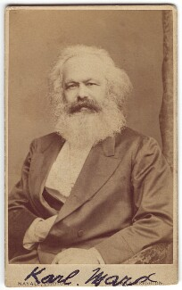 Karl Marx, by John Mayall, circa 1870 - NPG x126366 - © National Portrait Gallery, London
